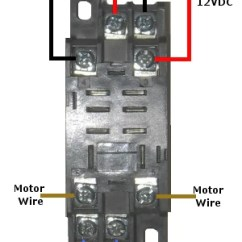 Wiring Diagram For 12 Volt Relay Clipsal Light Switch Australia Double-pole Double-throw Quick Connect Socket