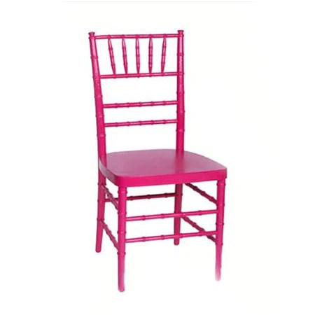 hot pink chair rocking with cane seat and back party rental products ballroom chairs smith rentals