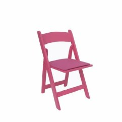Renting Folding Chairs Office Nap Chair Party Rental Products Hot Pink Smith