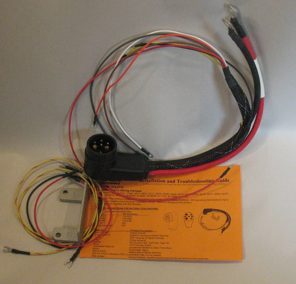 hight resolution of 414 2770 mercury internal wire harness