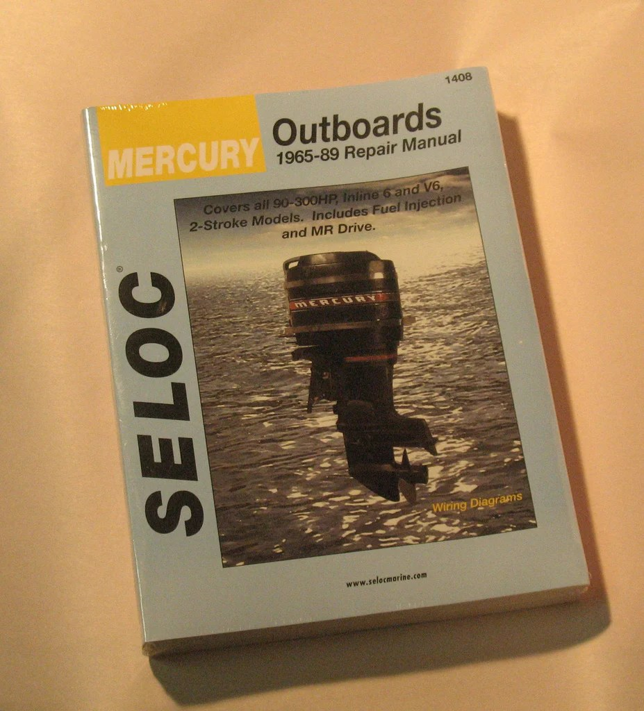 medium resolution of seloc 1408 seloc service manual mercury 6 cylinder 90 300hp inline a vintageoutboard com