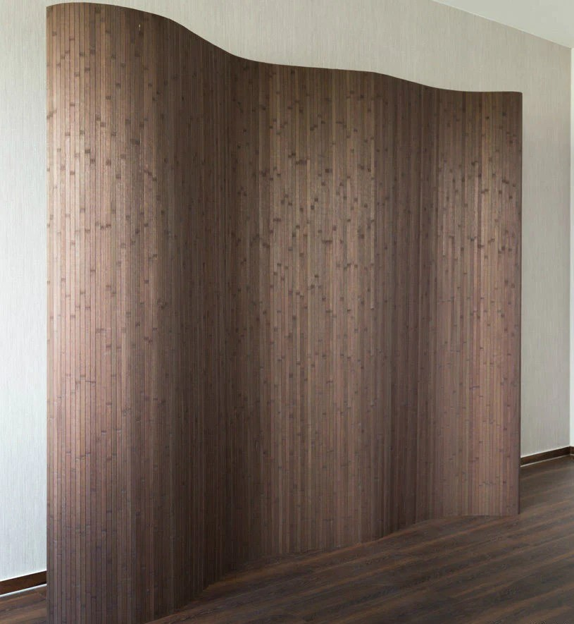 Elegant & Attractive Flexible Bamboo Room Dividers Screens