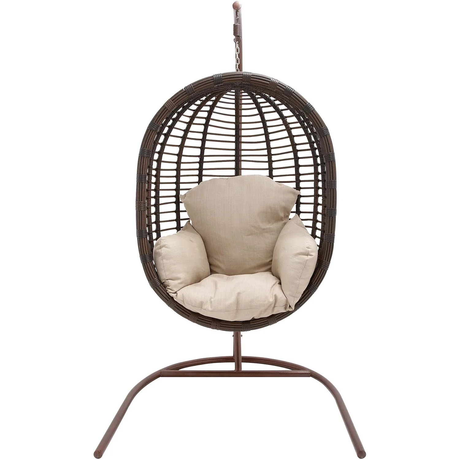 Cheap Hanging Egg Chair Hanover Outdoor Wicker Rattan Hanging Egg Chair Swing Egg Swing03