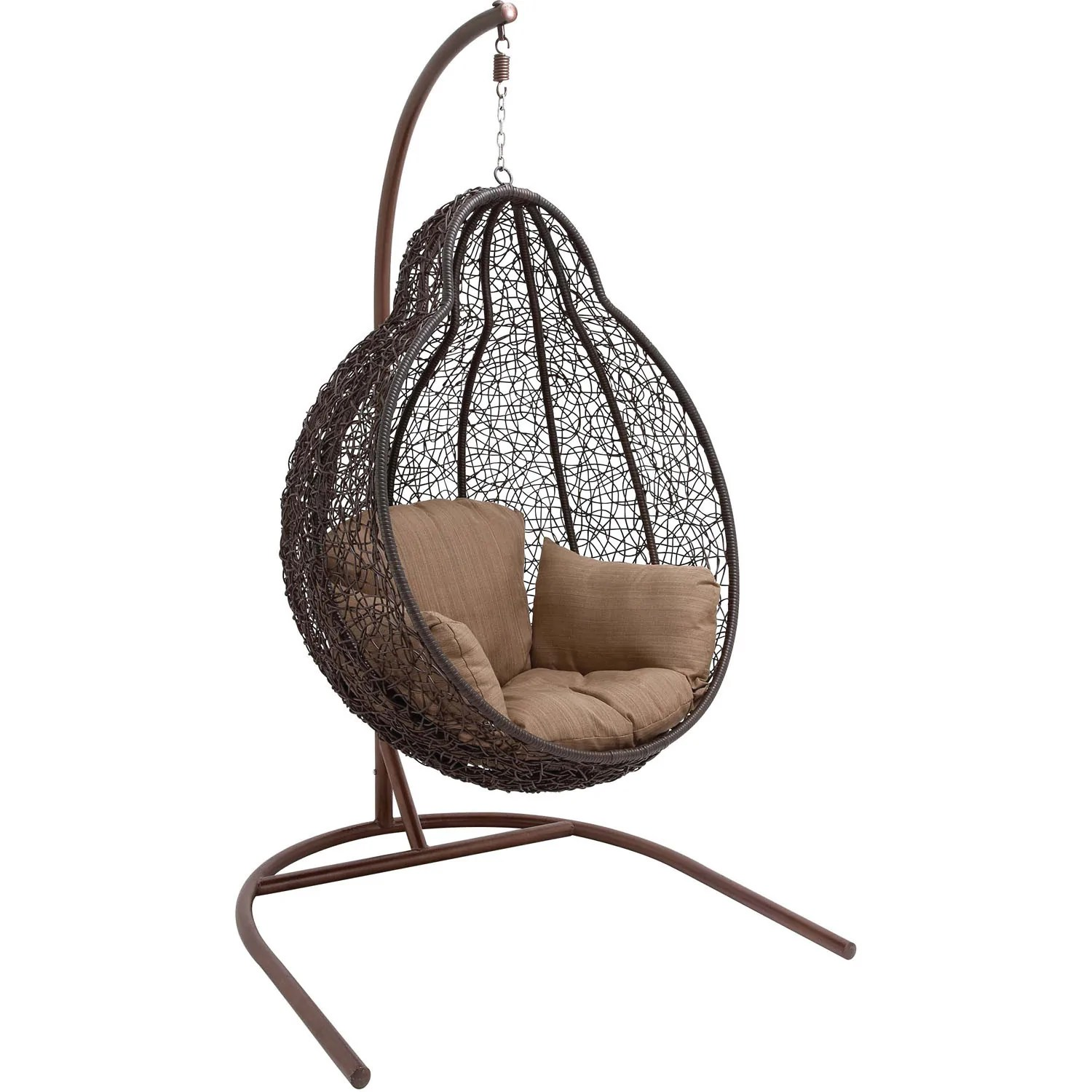 Cheap Hanging Egg Chair Hanover Outdoor Wicker Rattan Hanging Egg Chair Swing Egg Swing04