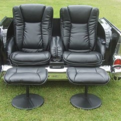 Reclining Massage Sofa Cat Scratched Leather How To Fix 1957 Dual (chevy) – Carfurniture.com