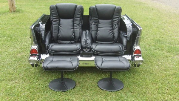 1957 Dual Massage Sofa Chevy  CarFurniturecom