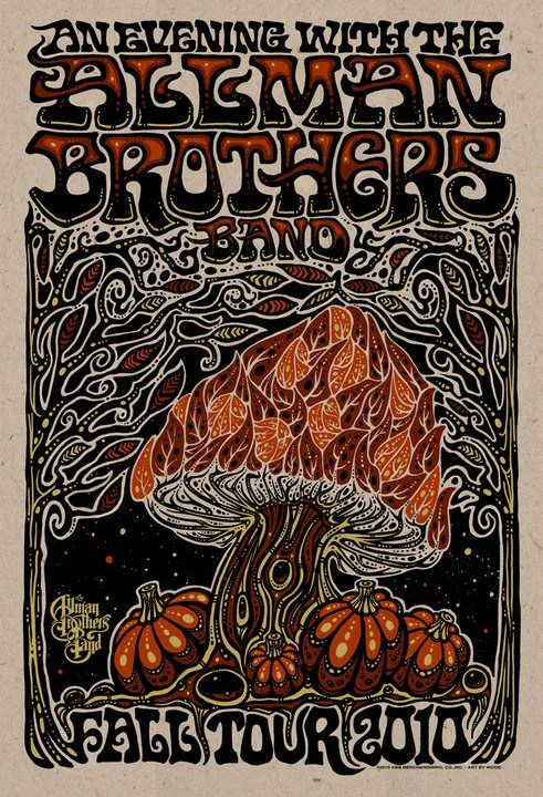 2010 allman brothers band fall tour