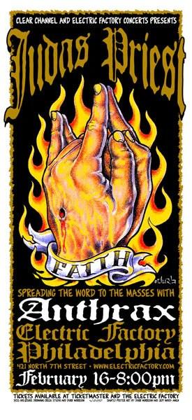 2002 judas priest anthrax philly