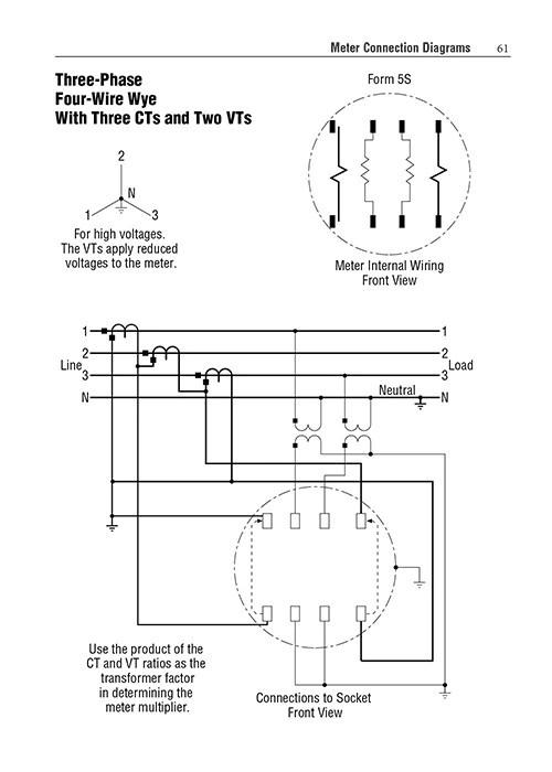 watt hour meter wiring diagram sip call pocket guide to watthour meters alexander publications