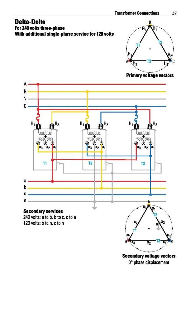 3 phase autotransformer wiring diagram delta temperature controller distribution transformer handbook alexander publications