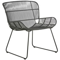 Globe West Granada Butterfly Occasional Chair - Liquorice ...