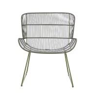 Globe West Granada Butterfly Occasional Chair - Moss Green ...
