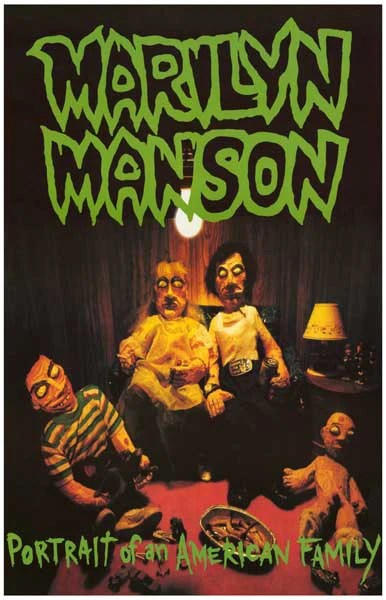 Wrestling Wallpaper Quotes Marilyn Manson American Family Poster 11x17 Bananaroad