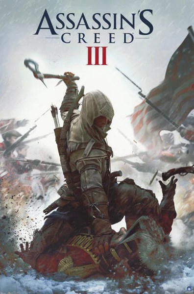 Assassin's Creed III Video Game Poster 22x34 – BananaRoad