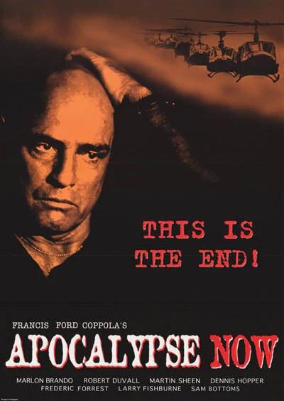 apocalypse now movie poster 24x33 bananaroad