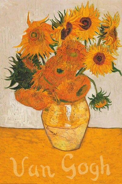 https bananaroad com products vincent van gogh sunflowers poster 24x36