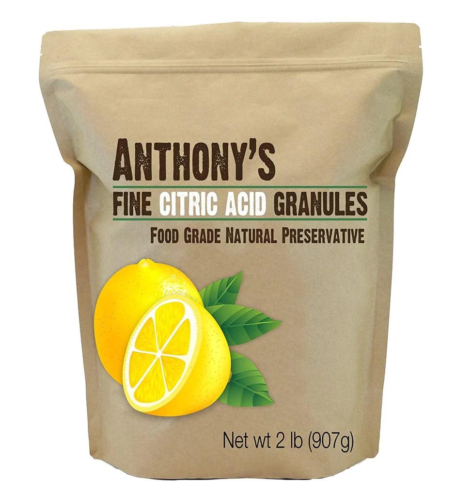 Granular Citric Acid: A Natural Food Preservative ...