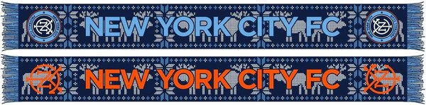 nycfc scarf winter scarf