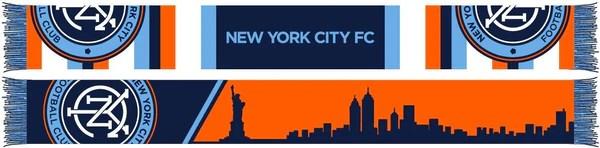 nycfc scarf skyline scarf