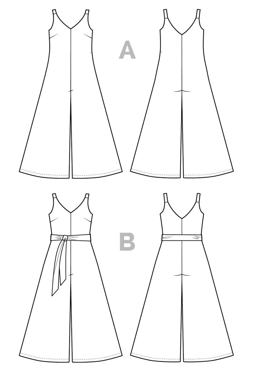 Jumpsuit Pattern Free : jumpsuit, pattern, Jumpsuit, Pattern, Sewing, Closet, Patterns