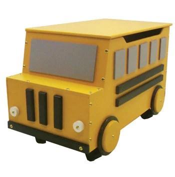 School Bus Toy Box Just Kids Stuff