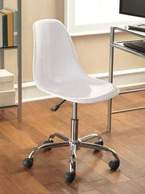contemporary office chairs bed pillow chair with arms mainstays white z line designs inc