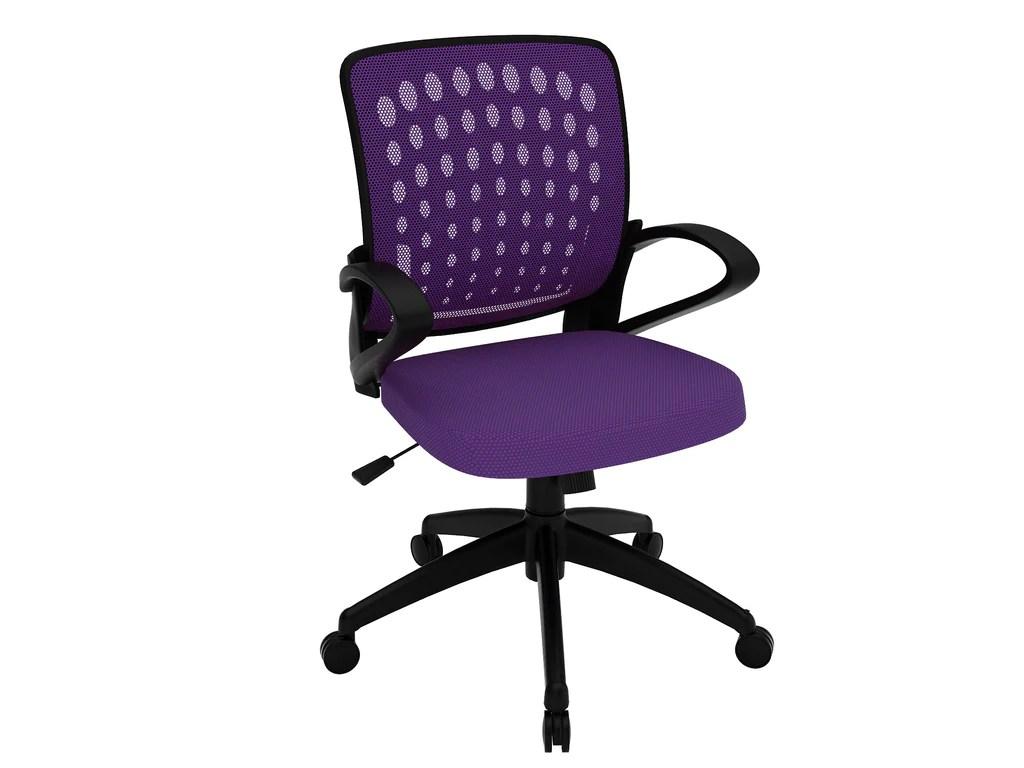 purple task chair adams adirondack chairs plastic office seating  z line designs inc