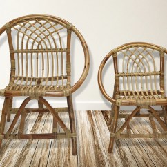 Childs Rattan Chair Personalized Christmas Covers Medium Lea And Lani