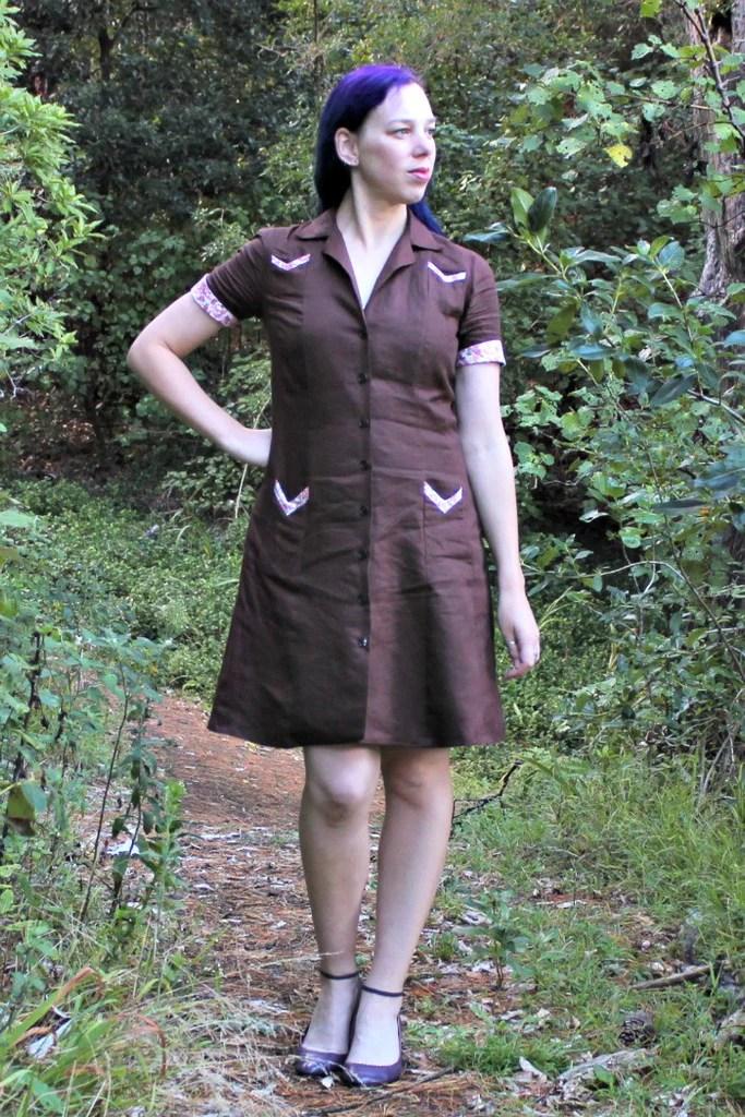 Melissa dress by Muse Patterns