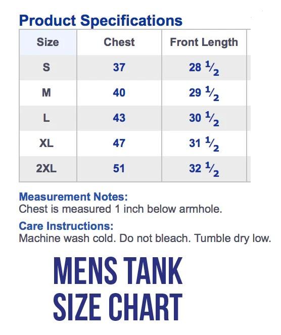 Men   tank top size chart also the shop forward rh theshopforward