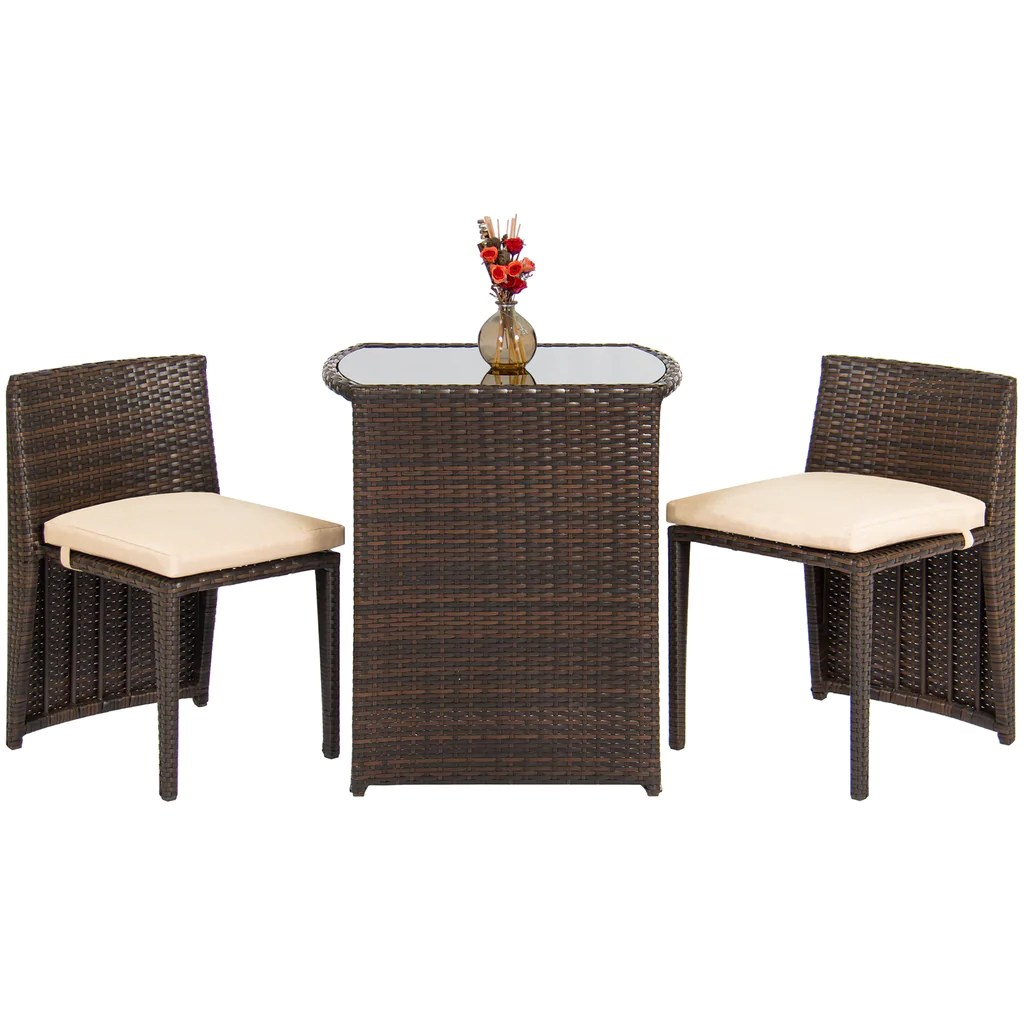 best patio chairs zero gravity lounge chair with sunshade choice products outdoor furniture wicker 3pc