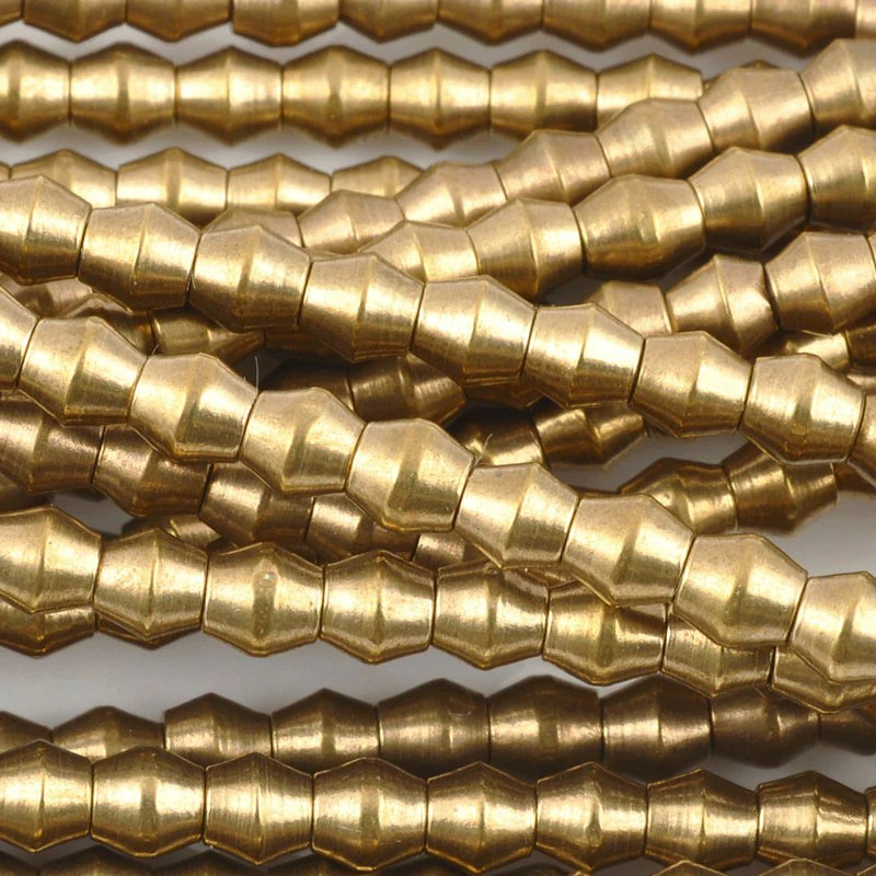 Brass-4.5mm Bicone Bead-bronze-tamara Scott Design