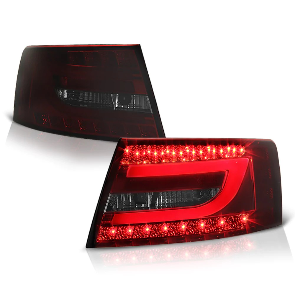 2005 2008 audi c6 a6 red tail light  [ 1000 x 1000 Pixel ]