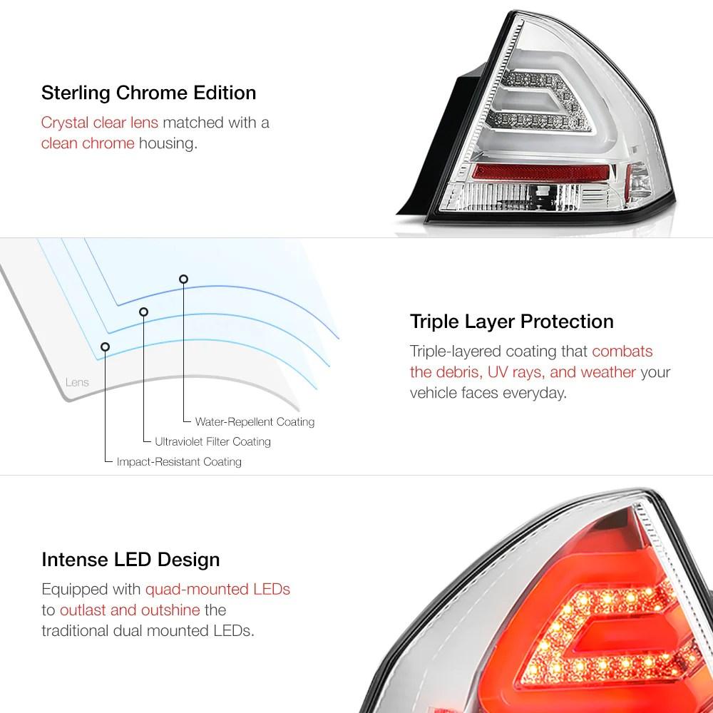 hight resolution of  2006 2013 chevrolet impala chrome tail light
