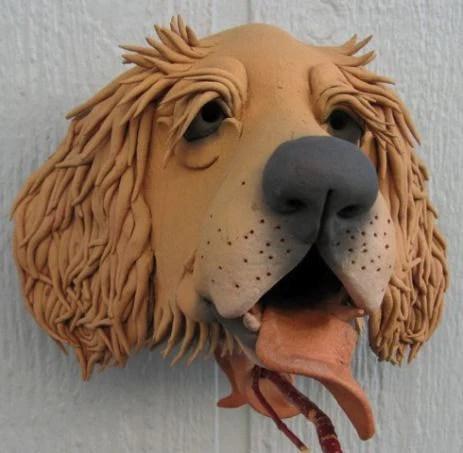 Golden Retriever Birdhouse by Doug Fay  The Birdhouse Chick