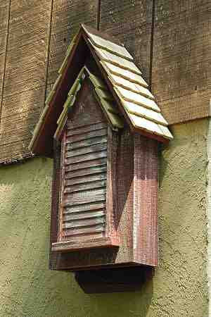 Victorian Bat House Double Chamber By Heartwood The