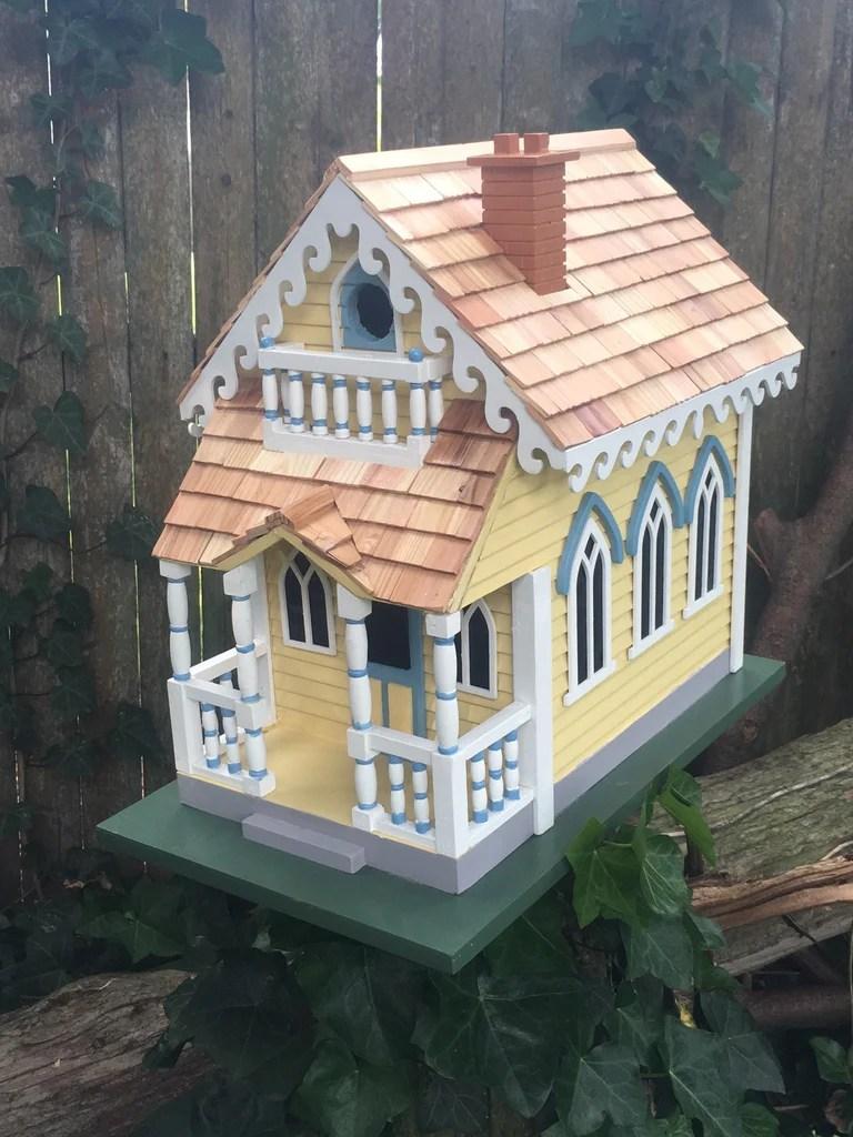 Victorian Cottage Birdhouse Victorian Birdhouses Home