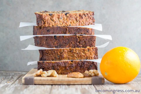 Gluten Free Christmas Fruit Cake