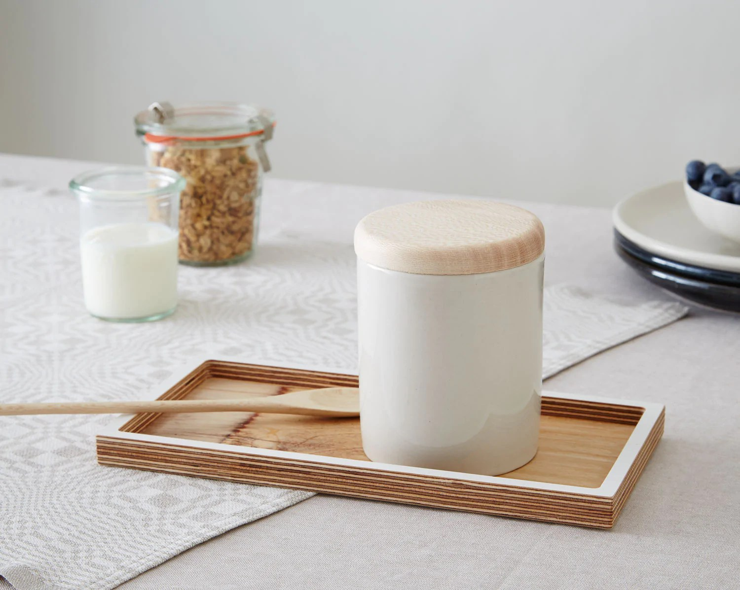 kitchen candles oak cabinet natural winter minor goods