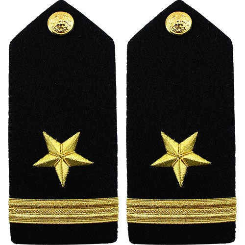 Navy Ribbons