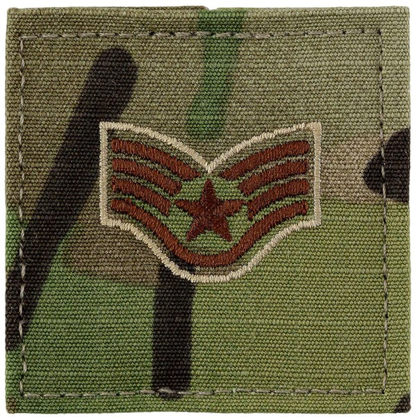 Air Force Multicam Rank  Enlisted  USA Military Medals