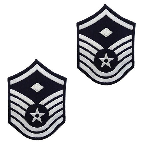 Air Force Full Color Enlisted Rank Small Size USAMM