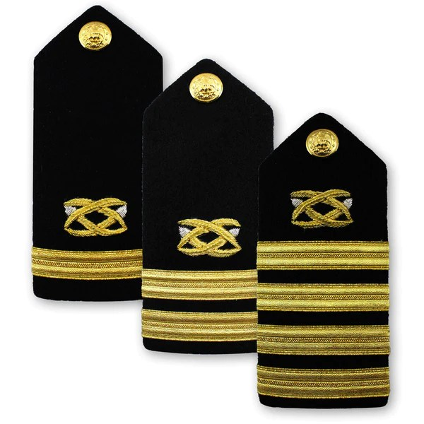 Navy Male Hard Shoulder Board  Civil Engineer  USAMM