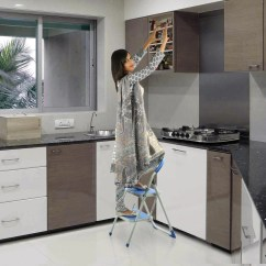 Kitchen Ladder Home Styles Cart Ozone Steel Step Knobskart Com Flat 20 Off