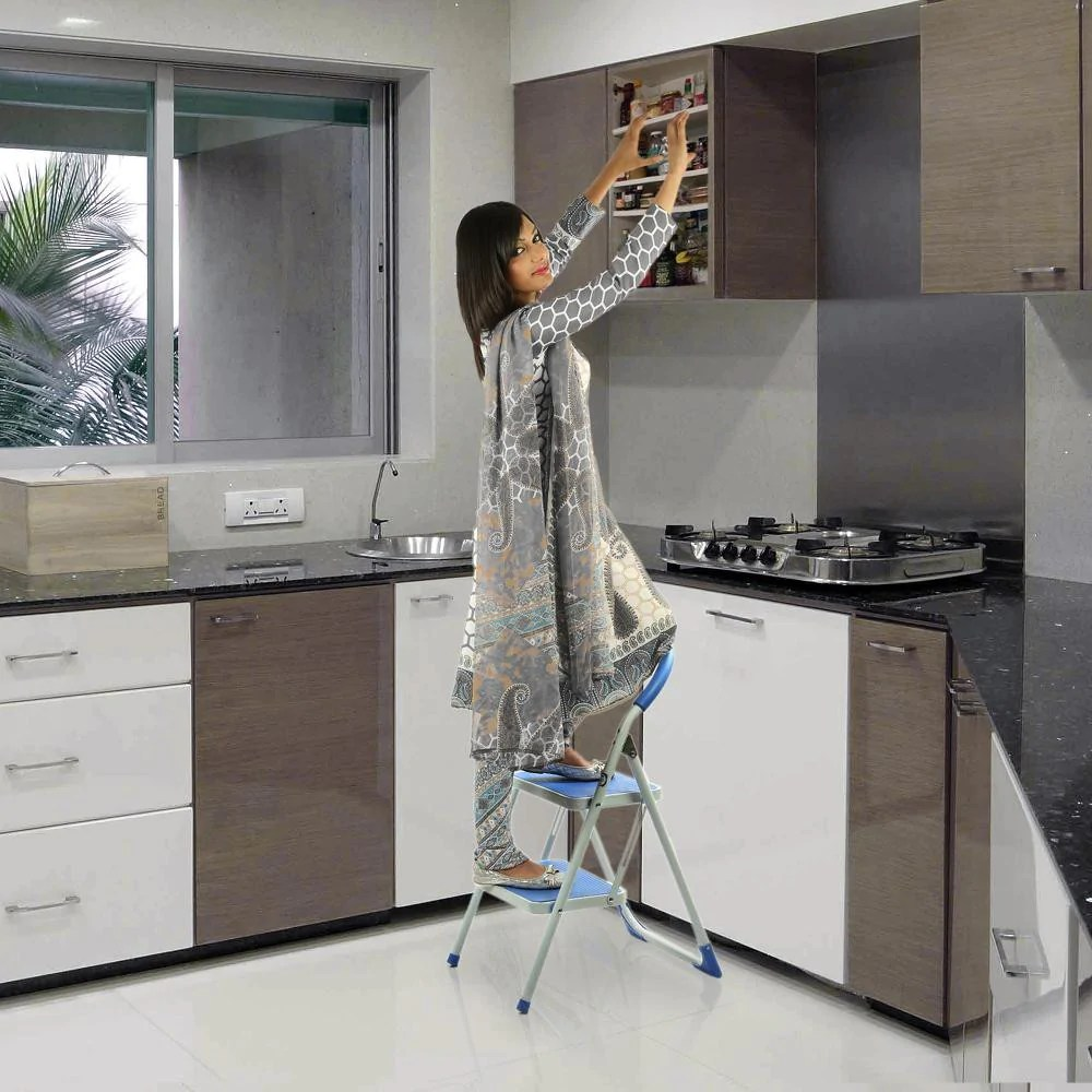 kitchen ladder price pfister treviso faucet ozone steel step knobskart com flat 20 off