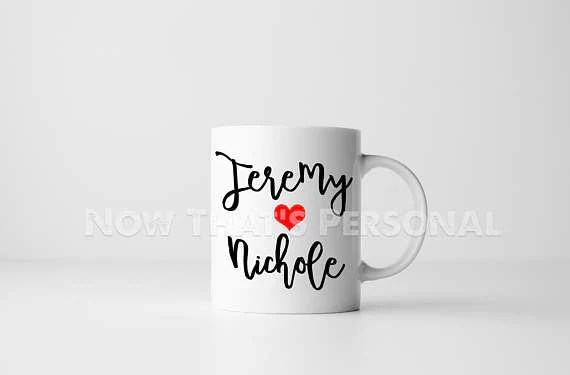 personalized coffee mug any