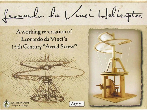 cart for kitchen ella's baby food pathfinders da vinci helicopter model kit – toys2learn
