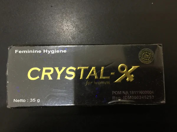 New Crystal X Feminine Hygiene By NASA Limited Stock Sale