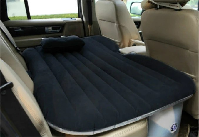 Heavy Duty Inflatable Car SUV Mattress Inflatable Bed Back