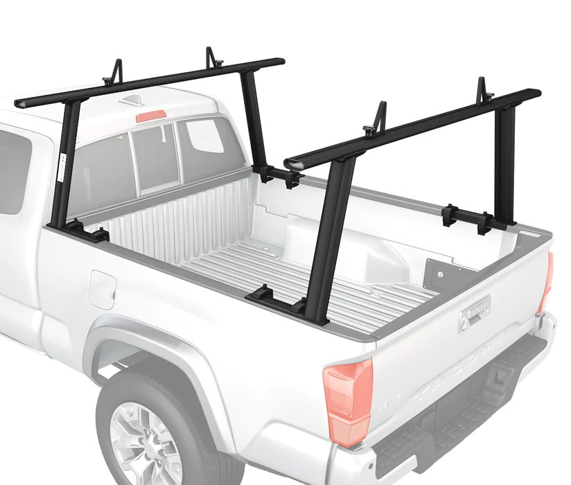 aa racks adjustable aluminum pick up truck ladder rack no drilling required apx25